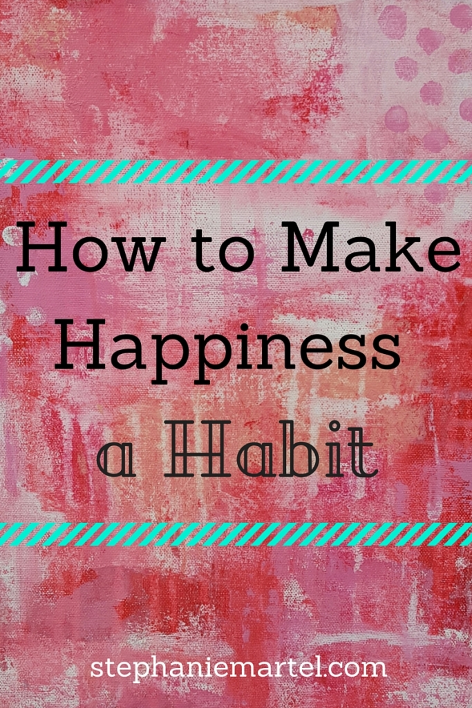 Happiness is no different than any other habit--you must practice to get better at it! Learn some tips on how to incorporate more happiness in your life. Make happiness a habit!