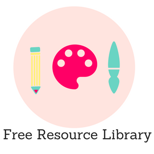 Get access to my free resource library made for creatives like you!