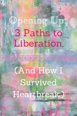How do you open up more in your life when all you want to do is shut down? Click through to read about what a bad break-up taught me and how one distraction was a catalyst to moving on.