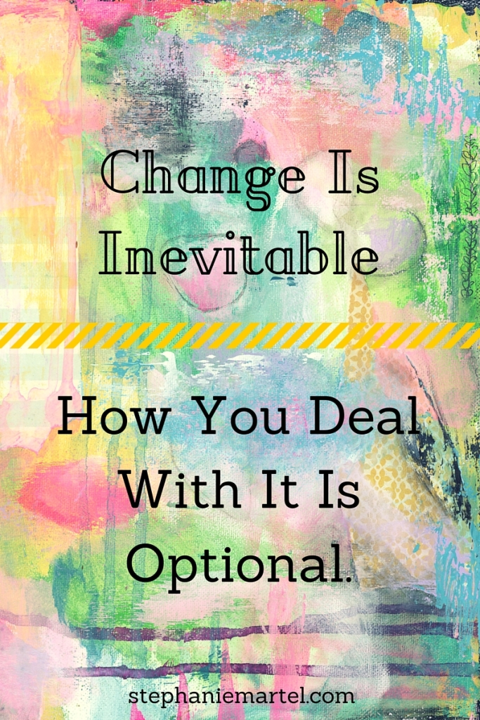 How do you handle change? Click through to hear about how a common experience helped me to handle change as an adult and how it may help you, too.