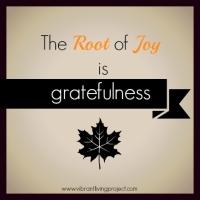 Root of joy