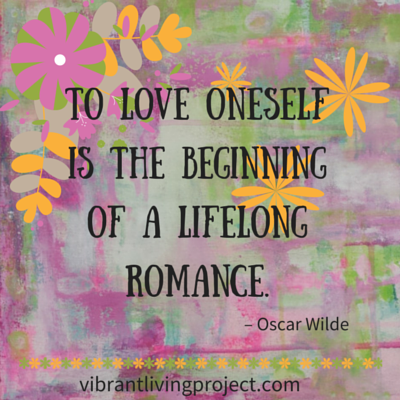 To love oneself