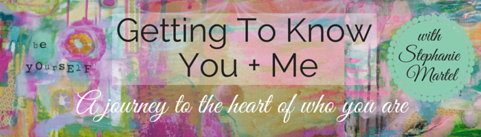 Getting To Know You + Me: Join the journey of personal growth + getting to know others.