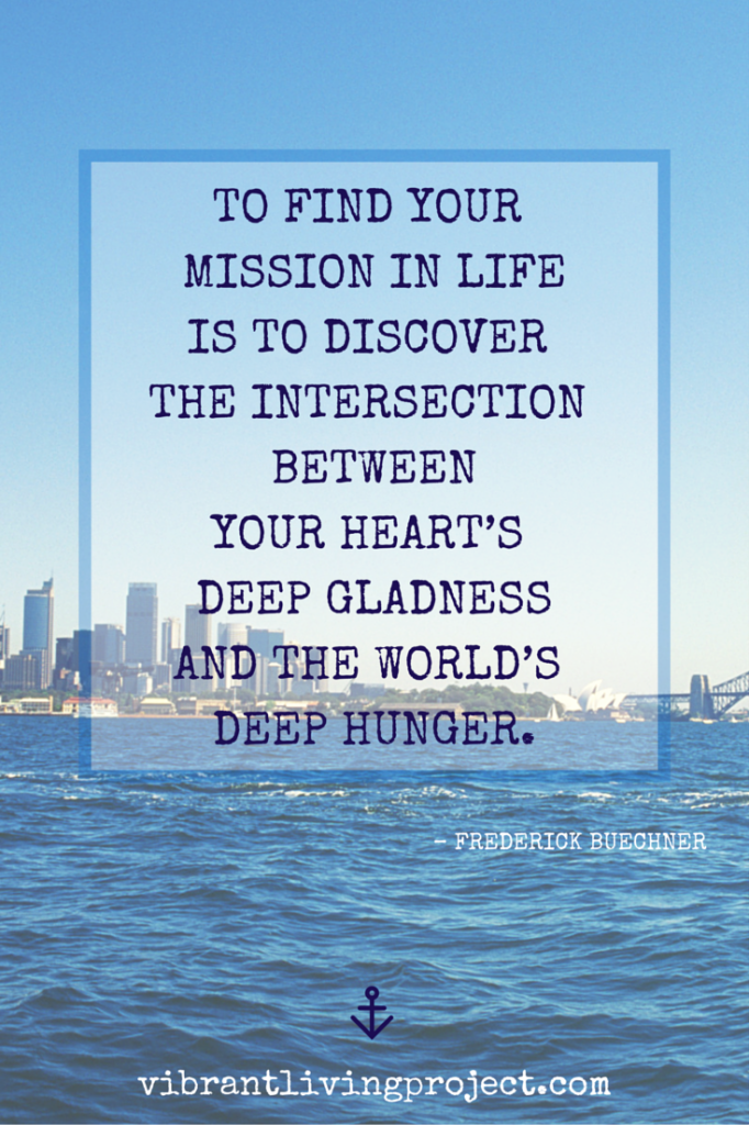 deep hunger + deep gladness