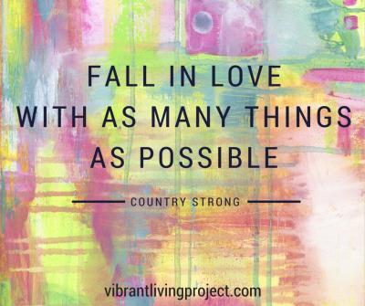 fall in love many