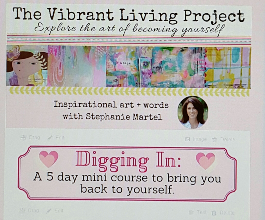 Digging In: a 5 day ecourse to bring you back to yourself!