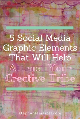 Click through to learn the 5 Social Media Graphic Elements