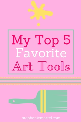 Click through to see my 5 favorite art tools right now. They're more simple than you think!