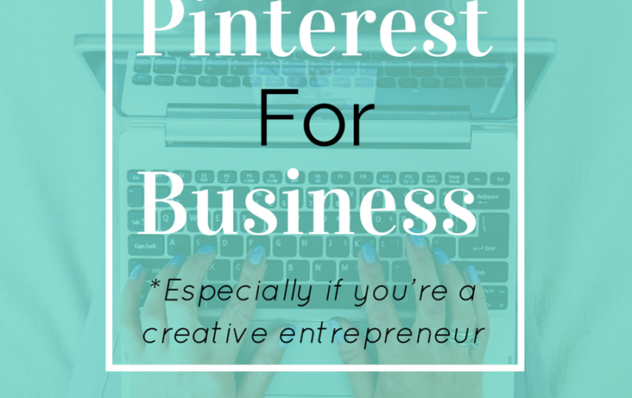 Click through to learn 5 ways to use Pinterest For Business, especially if you're a creative entrepreneur. Download your free checklist!