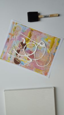 Come on over and check out how to transfer a photo to canvas. Click through for the quick and easy step-by-step instructions!