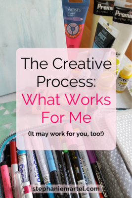 Want a peek into the creative process I use? Click through to read more--It may help you discover your own.