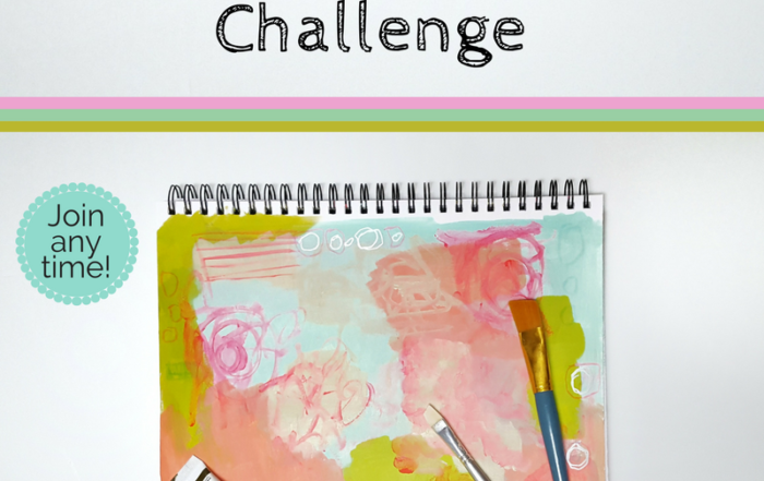 Join the fun challenge of creating for the sake of fun! No pressure, just supportive creatives cheering you on to keep practicing your craft. Click through for more details.
