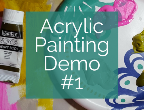 Acrylic Painting Demonstration #1