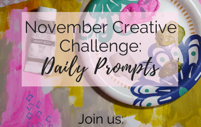 Join my free 2 week art challenge starting November 1st. Click through for more details!