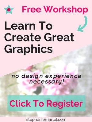 Create great graphics with my free workshop