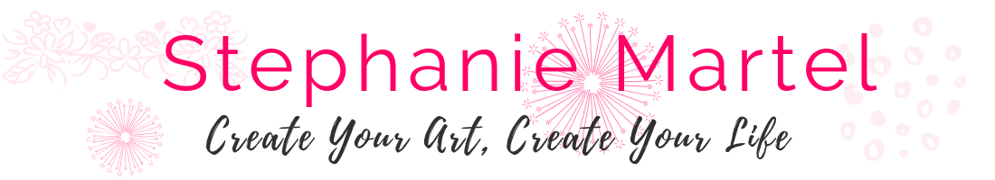 Stephanie Martel – Create Your Art + Create Your Life Logo